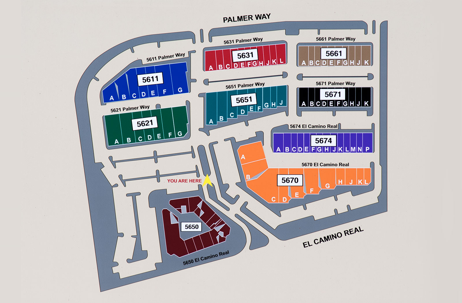 Site Plan Map